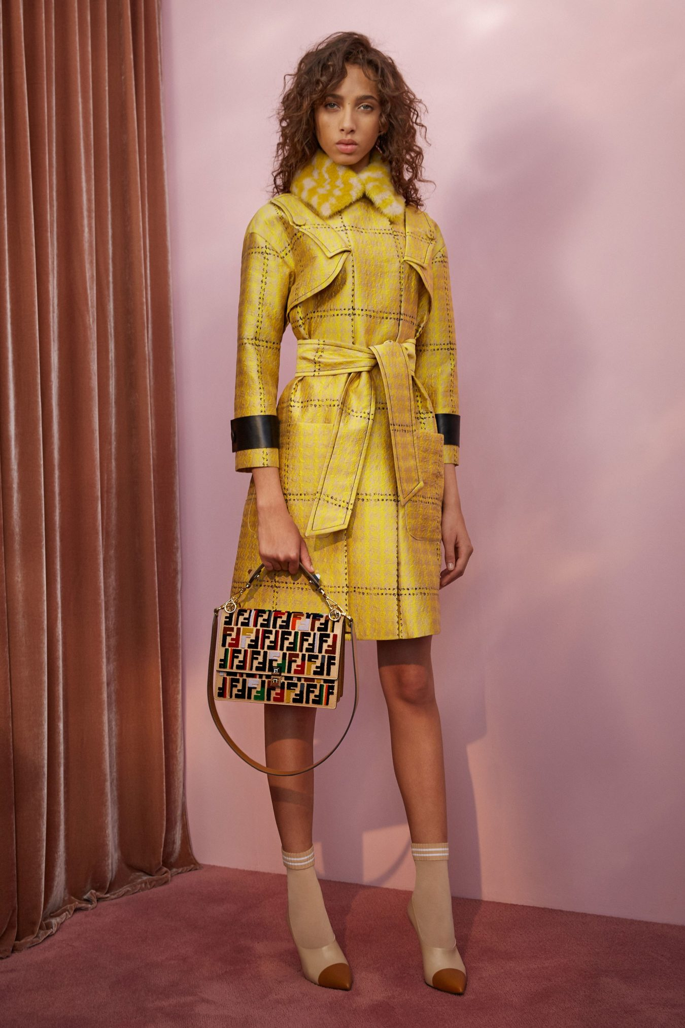 fendi resort 2018 lookbook the impression fashion show