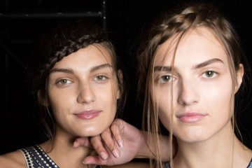 Herve-Leger-backstage-beauty-spring-2016-fashion-show