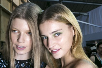 Holly Fulton Spring 2016 Fashion Show Beauty Photo