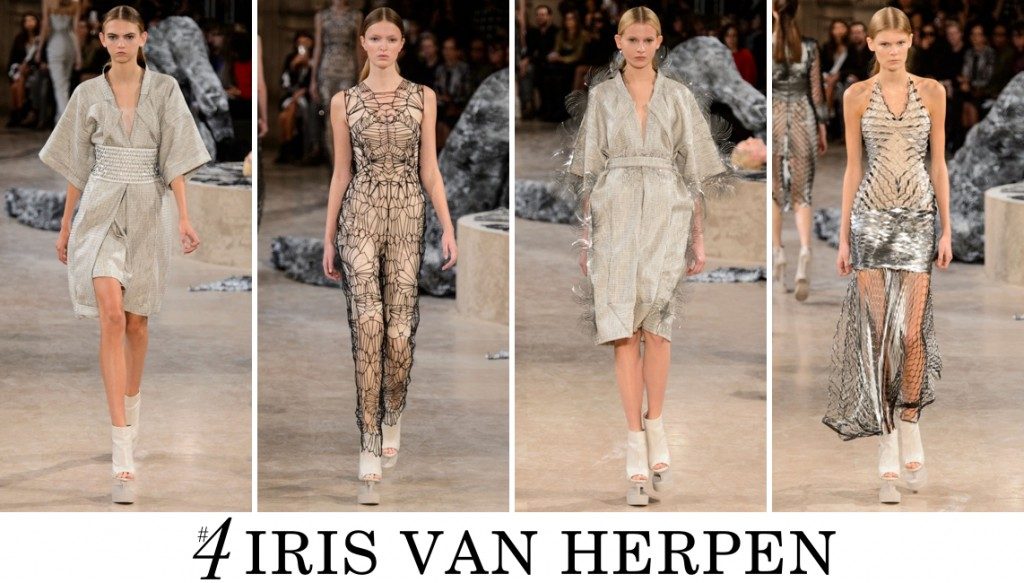 Iris van Herpen Spring 2016 Fashion Show Top 10 Photo