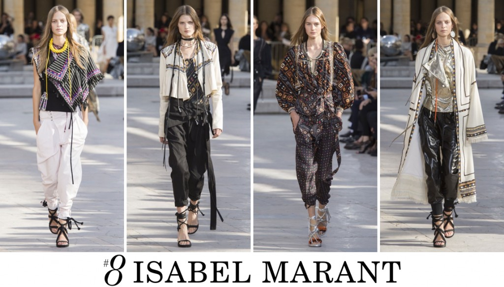 Isabel Marant Spring 2016 Fashion Show Top 10 Photo