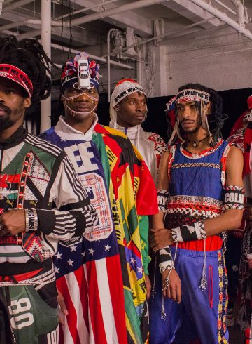 Jahnkoy Fall 2017 Menswear Fashion Show Backstage