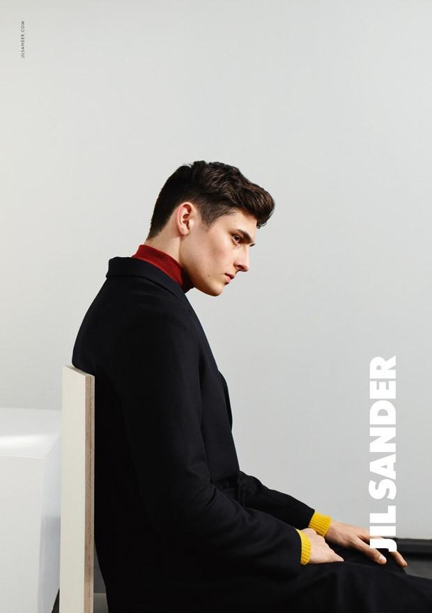 jil sander fall 2015 ad photo