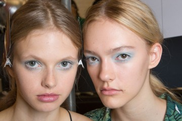 Jill Stuart Spring 2016 backstage Beauty photo
