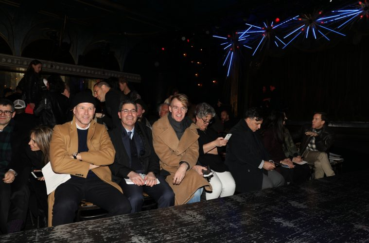 John Varvatos Fall 2017 Menswear Fashion Show Front Row