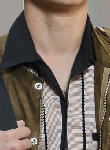 Lanvin mens fashion show close-ups spring 2016 photo