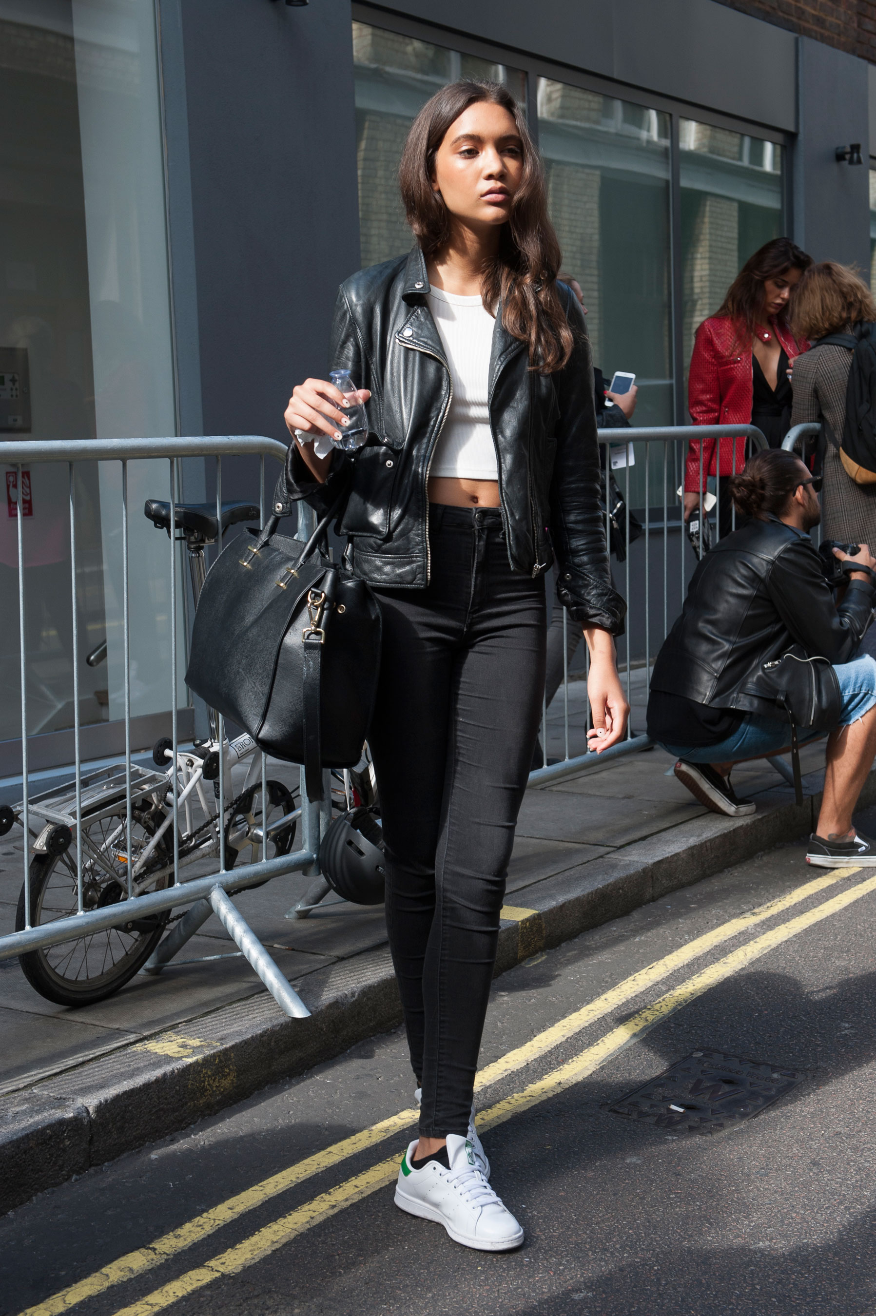 London Fashion Week Street Style Day 1 Spring 2016 The