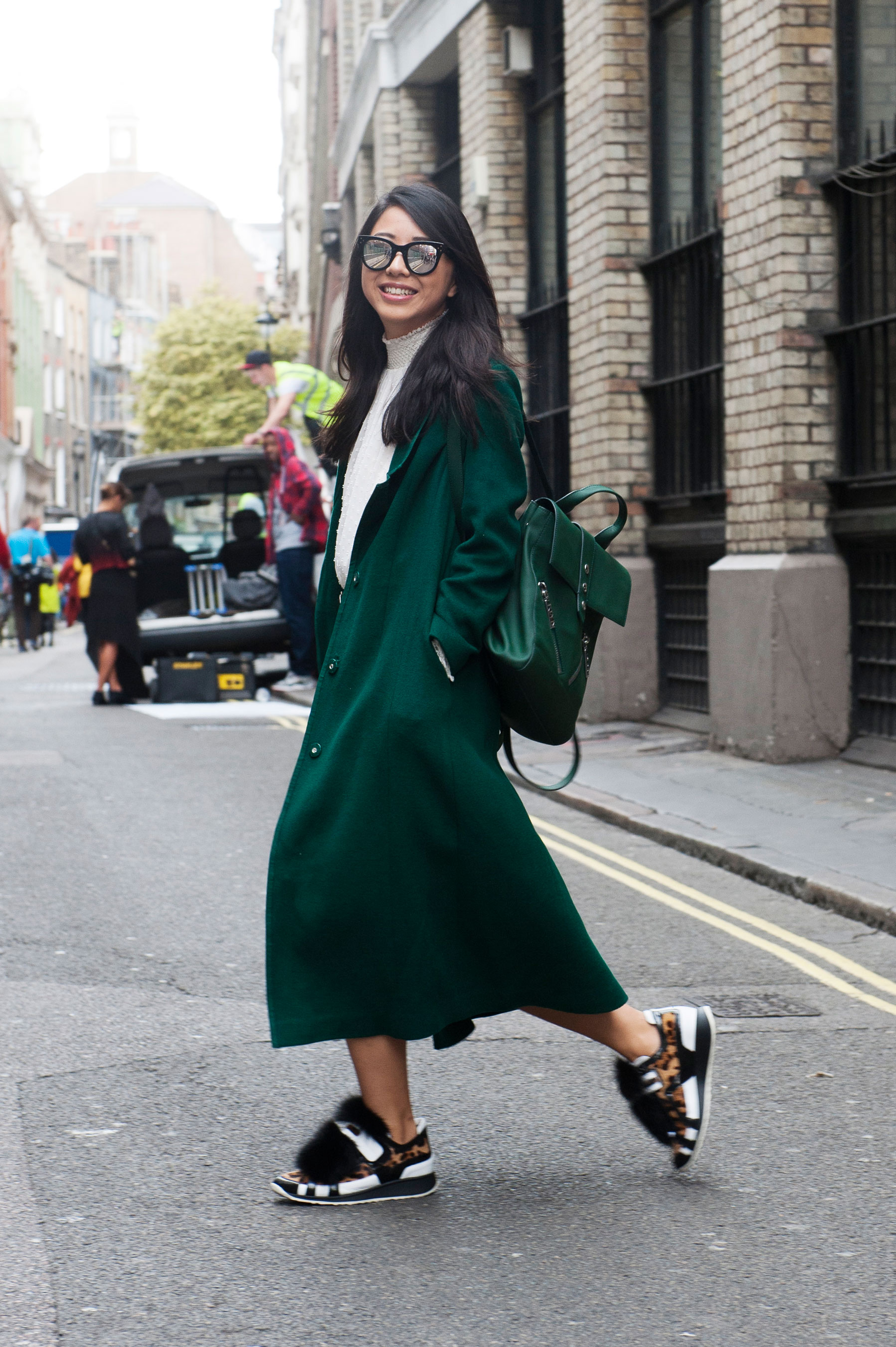 The Best Of London Fashion Week Street Style Spring 2016 Day 1
