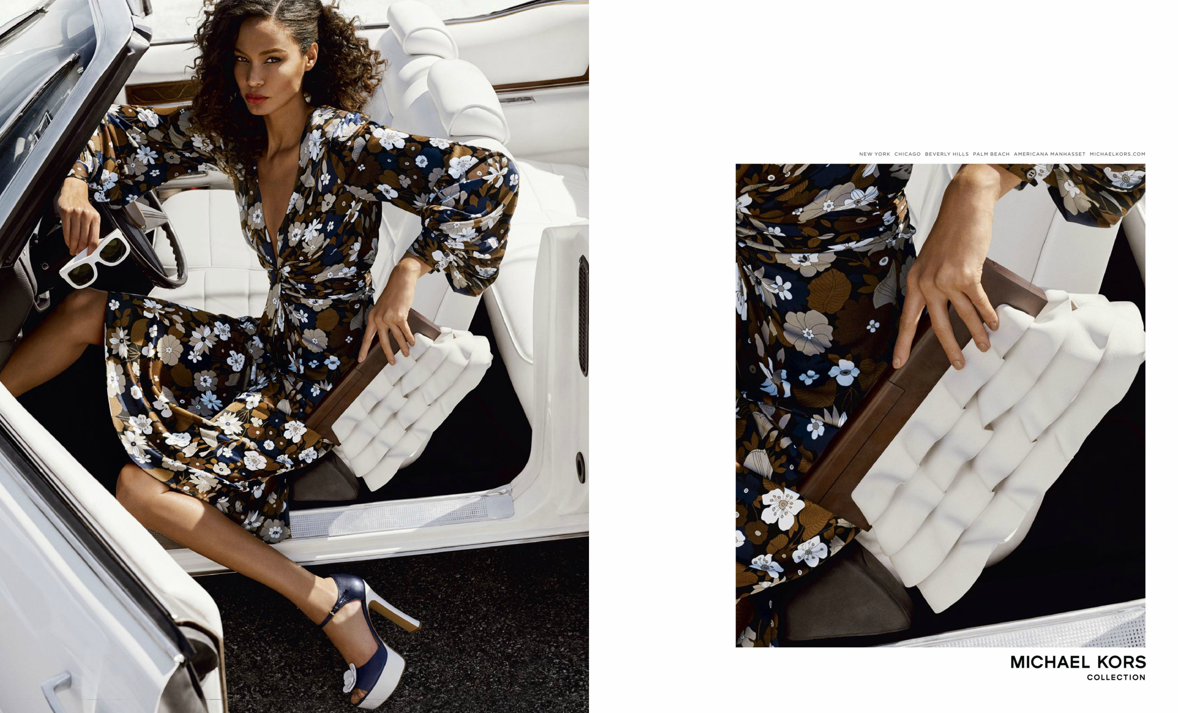 michael kors 39 spring 2017 ad campaigns. Black Bedroom Furniture Sets. Home Design Ideas