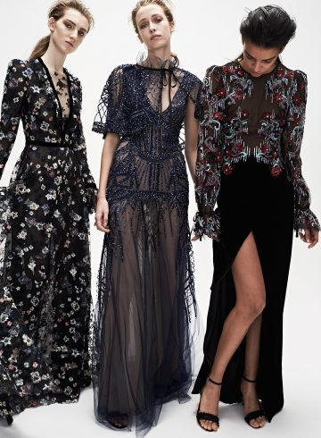 Monique Lhuillier Fall 2017 Fashion Show