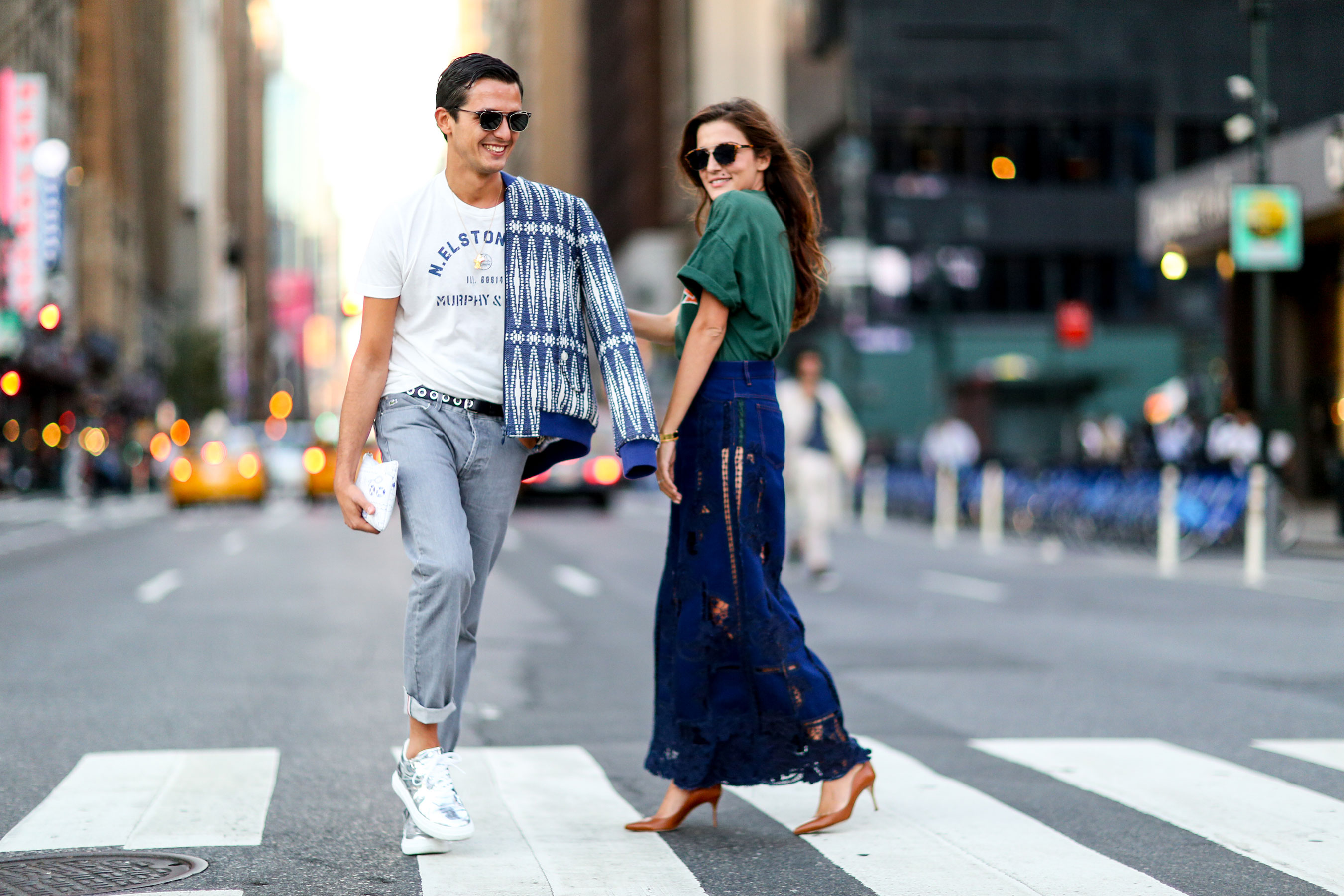 New York Fashion Week Streets Style Day5 Spring 2016 Fashion Show The Impression 05 1 The