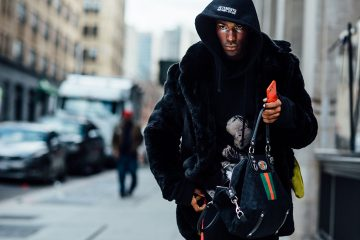 New York Week Fashion Week Men's Street Style Day 4 Fall 2017 - Part 2