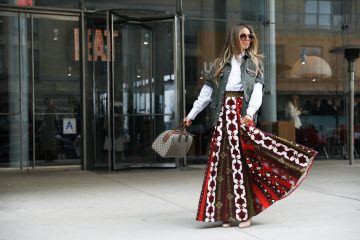 New York Fashion Week Street Style Day 6 Fall 2017 by Myoungsoo Lee