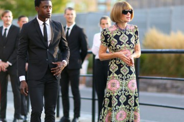 New York Street Style Anna Wintour September 2016 photo