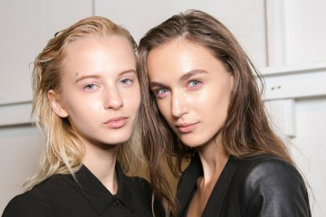 Ohne Titel Spring 2016 Fashion Show Beauty