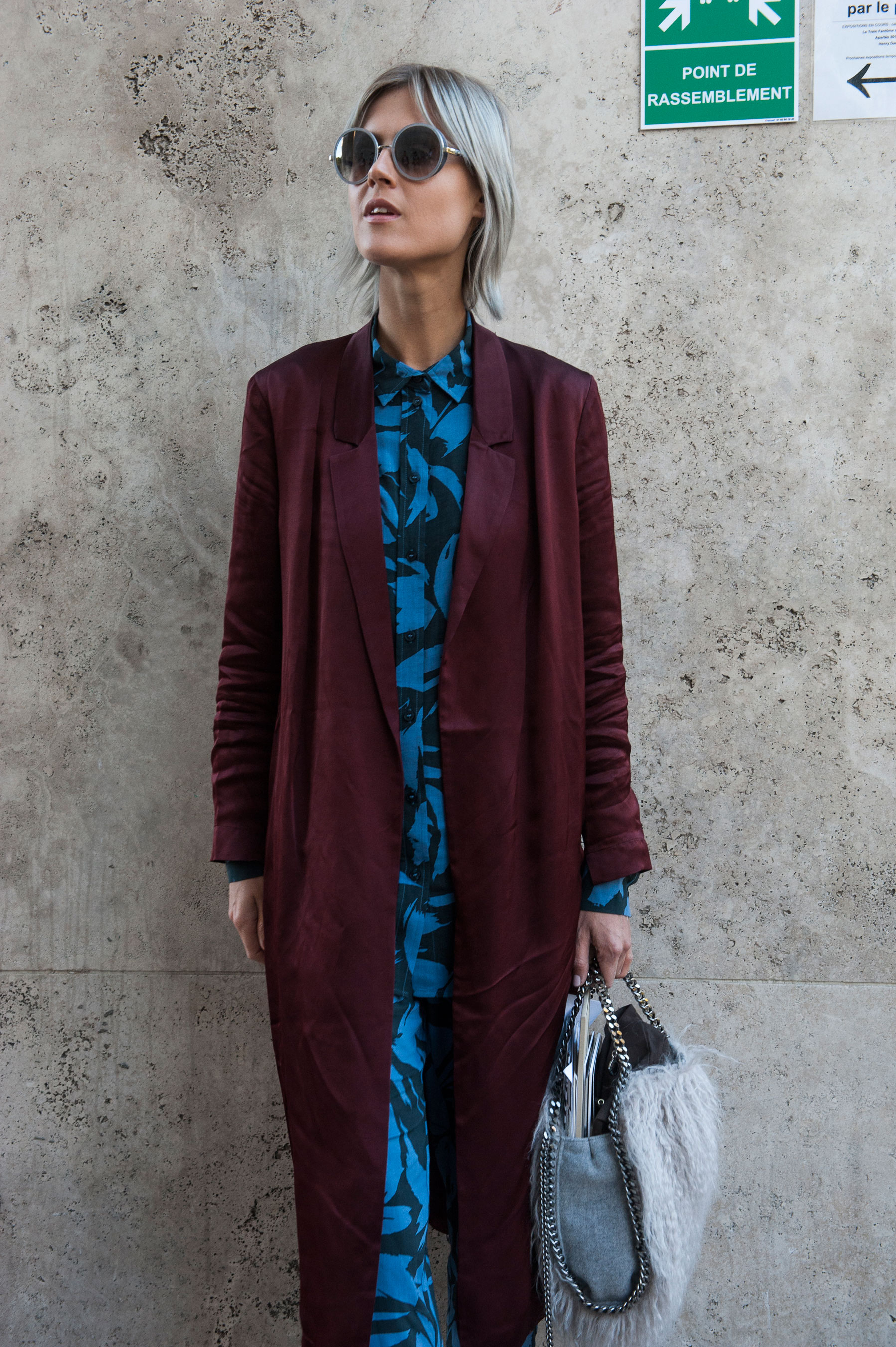 The Best Of Paris Fashion Week Street Style Spring 2016 Day 2