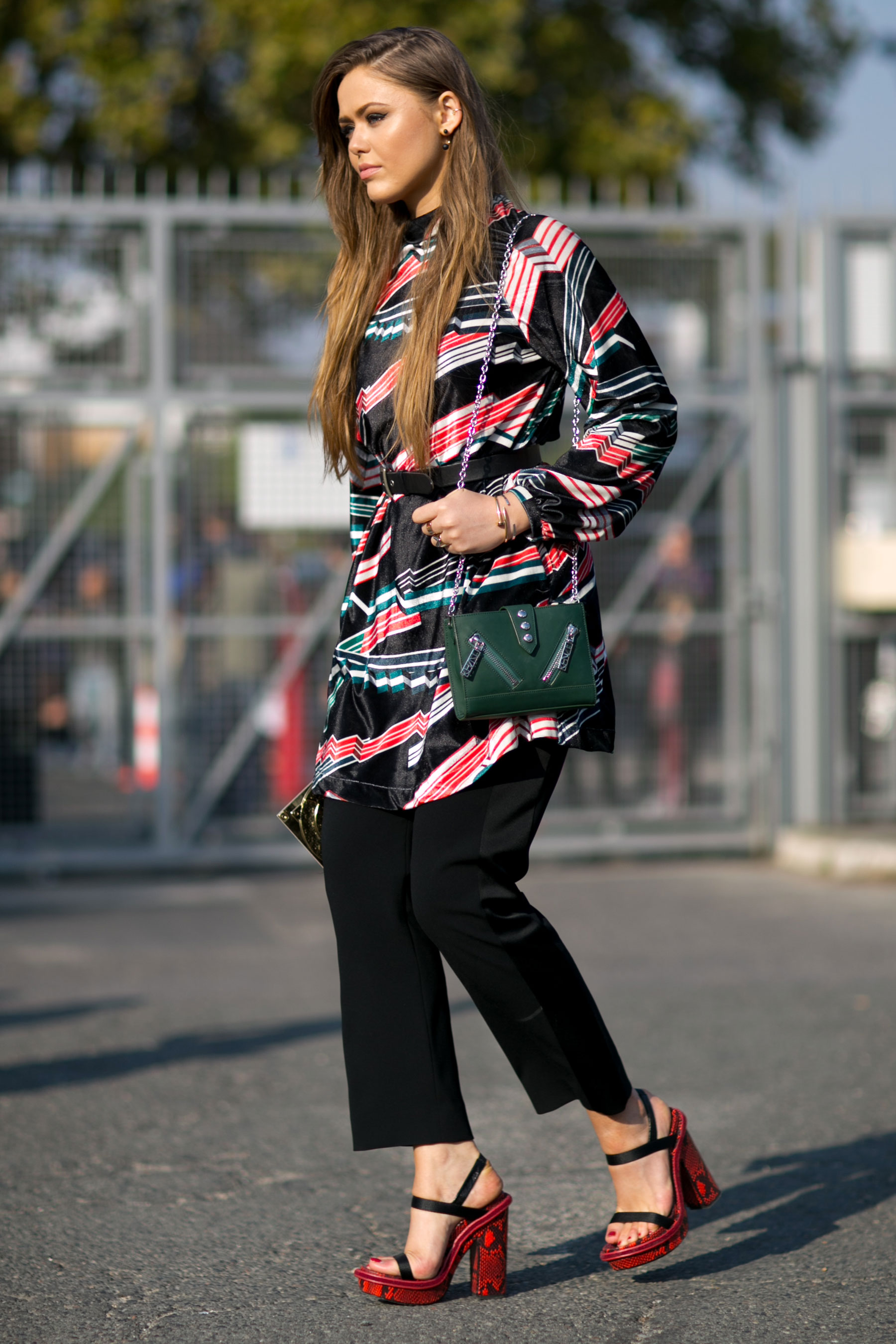 Paris Fashion Week Street Style Day 6 October 2015 The Impression 088