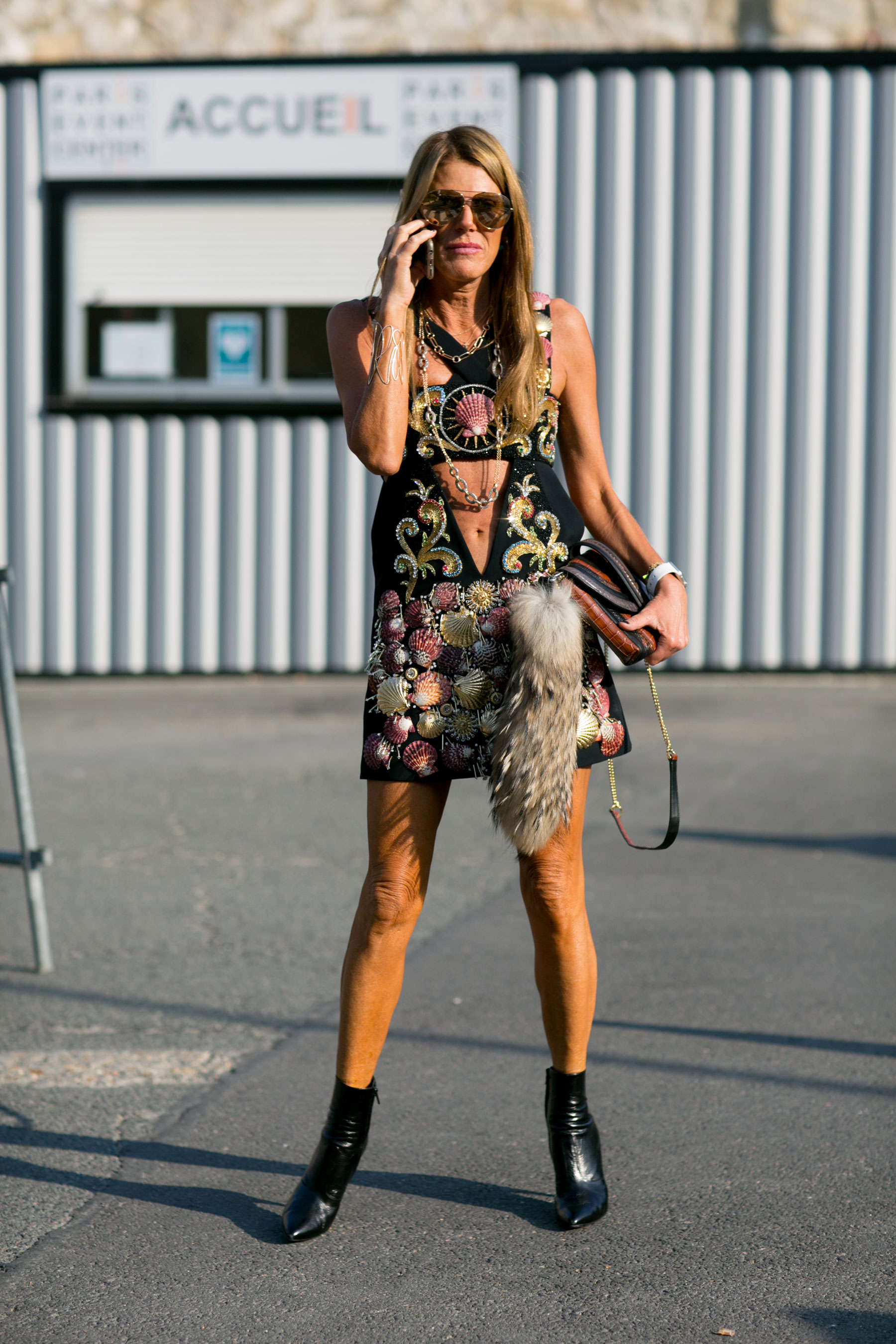 Paris Fashion Week Street Style Day 6 October 2015 The