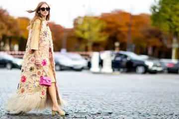 Paris fashion week street style October 2015 Chiara Chanel Photo