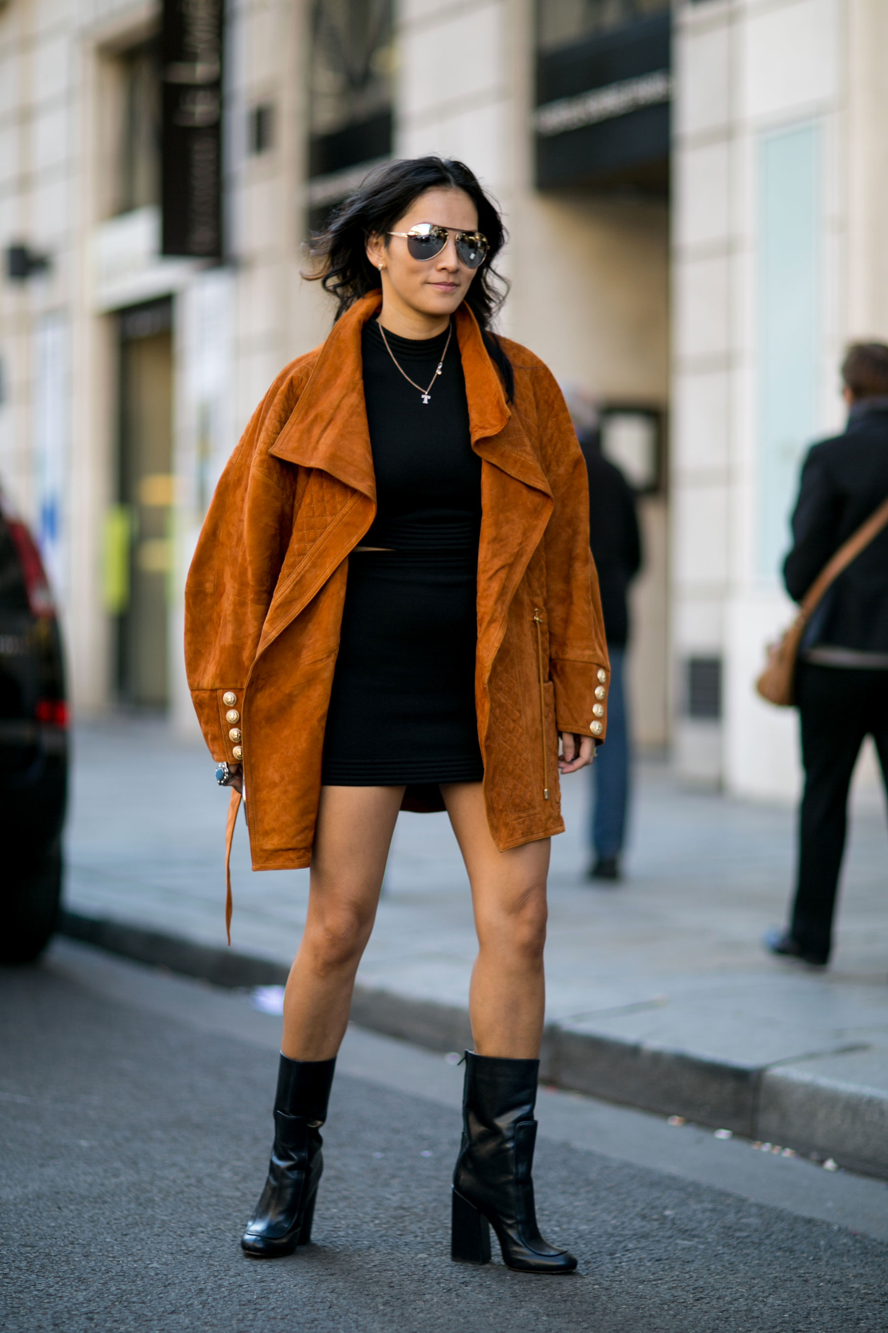 Paris Fashion Week Street Style September 2015 Day 3 The Impression 093 The Impression