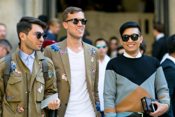 street style Paris mens fashion week day 1 june 2015 photo