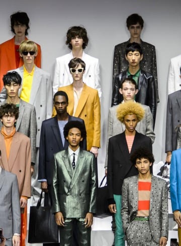 Paul Smith men's fashion show spring 2016 photo