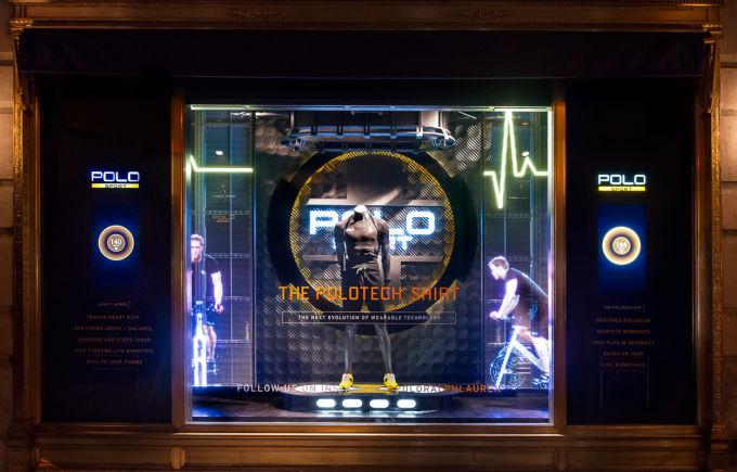 Polo Ralph Lauren's Holographic Windows the impression-3