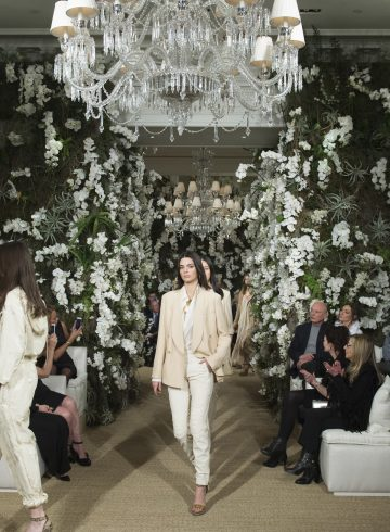 Ralph Lauren Spring 2017 Fashion Show Atmosphere