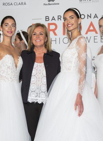 Rosa Clara Spring 2018 Bridal Backstage