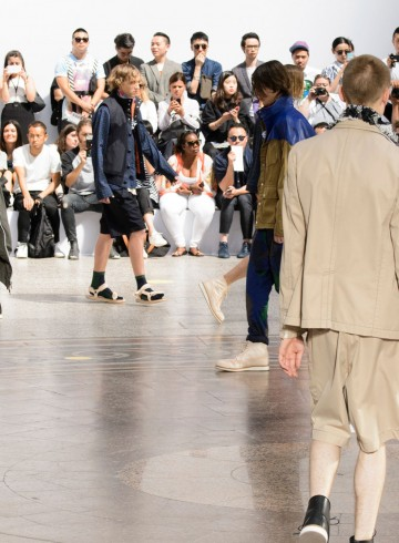 sacai mens spring 2016 fashion show photo
