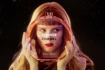 Chanel eau vive ad photo