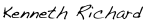 kenneth richard signature