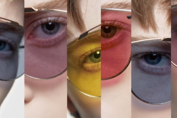 Brigitte Lacombe Brings a Pop Art Feel to DiorSoRealPop Sunglasses Campaign