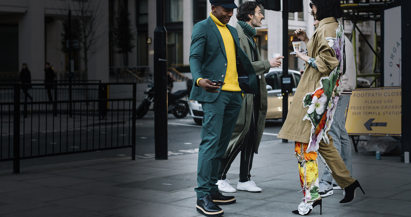 London Fashion Week Men's Street Style Fall 2018 Day 2