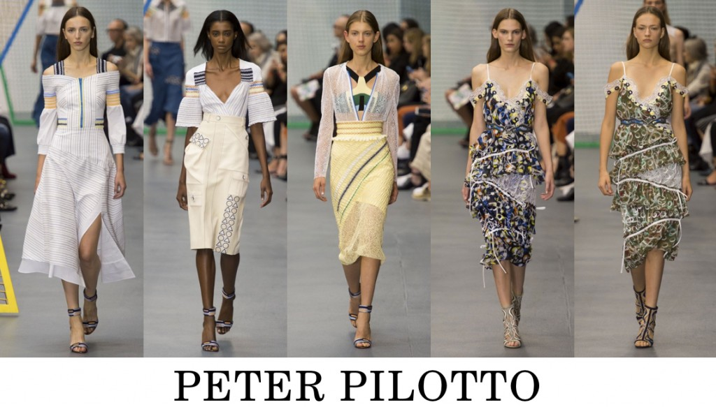 Peter Pilotto Top 10 others spring 2016 fashion show photo
