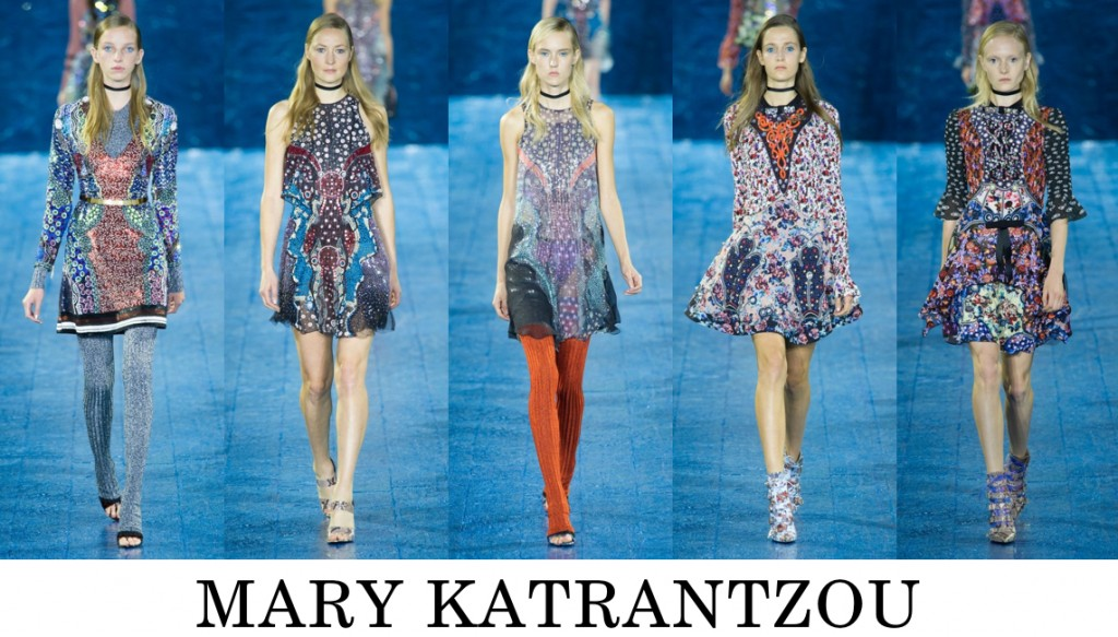 Mary Katrantzou Top 10 others spring 2016 fashion show photo