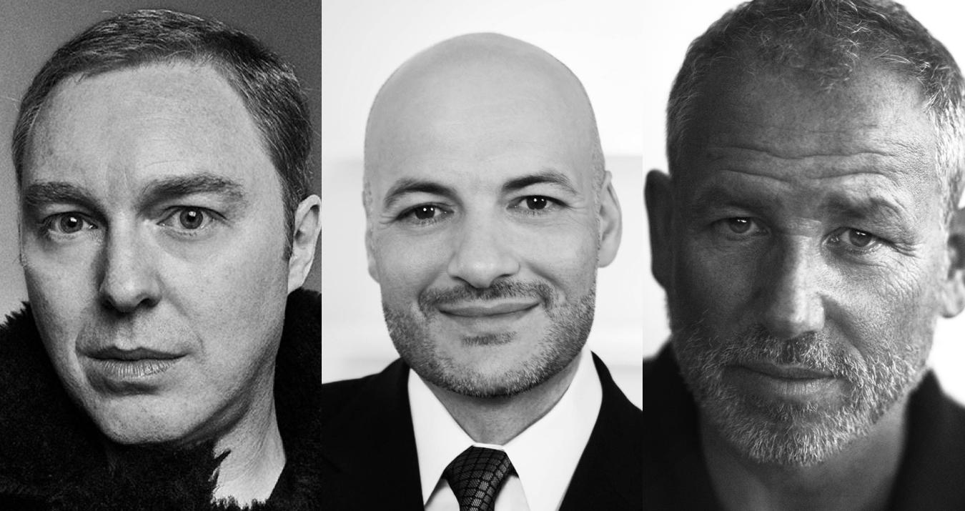 Stuart Vevers, Victor Luis, Fabien Baron