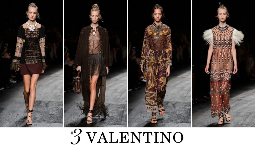 Valentino Spring 2016 Fashion Show Top 10 Photo