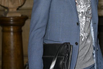 Valentino Fall 2017 Menswear Fashion Show Details
