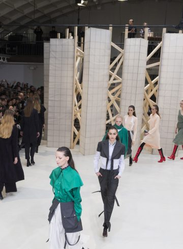 Aalto Fall 2017 Fashion Show Atmosphere