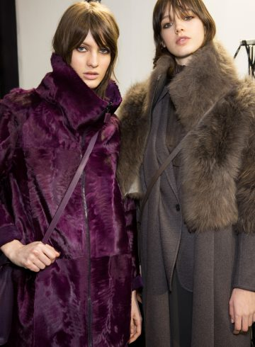 Akris Fall 2017 Fashion Show Backstage