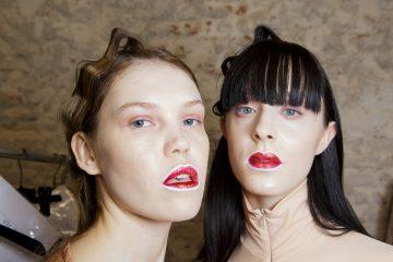 Alberto Zambelli Fall 2017 Fashion Show Backstage Beauty