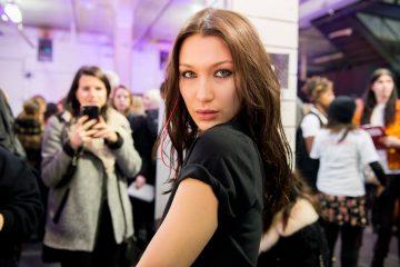 Alexander Wang Fall 2017 Fashion Show Backstage Beauty