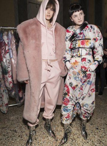 Angel Chen Fall 2017 Fashion Show Backstage