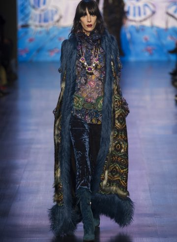 Anna Sui Fall 2017 Fashion Show