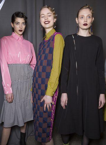 Arthur Arbesser Fall 2017 Fashion Show Backstage