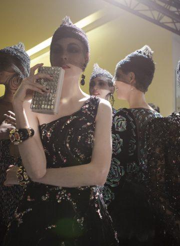 Giorgio Armani Prive Fall 2017 Couture Fashion Show Backstage