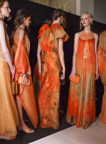 Giorgio Armani Privé Spring 2017 Couture Backstage