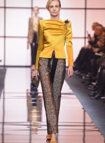 Giorgio Armani Privé Spring 2017 Couture Fashion Show