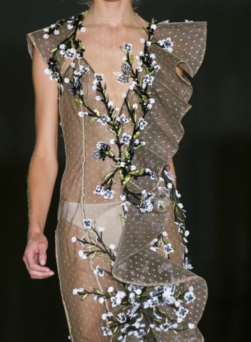 Dany Atrache Fall 2017 Couture Fashion Show Details
